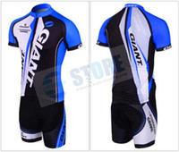 Short cycling jersey wholesale - Free via DHL High Quality Hot GIANT Cycling Jersey kinds bike jersey Cycling Clothing sets M