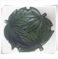 Wholesale Jamaican reggae resin leaf ashtray cm
