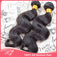 Wholesale HOT sale human hair eurasian virgin hair body wave queen hair products hair weaves hair extensions same length