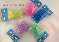 8-11 Years Multicolor Rubber Glitter tie dye glow in the dark Metal Rainbow Loom Kit DIY Rainbow Loom Bracelet for kids (300 pcs bands + 12 pcs C-clips + 1 hook ) 500pcs