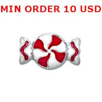 Charms for locket mixed CANDY TWIST Glass Floating charms for memory living locket wholesale
