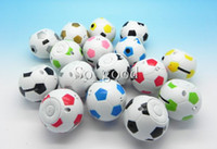 Wholesale New arrived Cartoon Football design mini speaker mp3 music player Support GM micro memory card