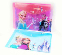 Frozen Elsa Anna Cartoon School Stationery A4 File Pocket St...