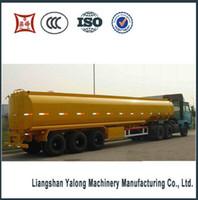 Wholesale fuel tanker truck trailer