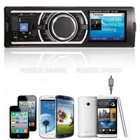 Wholesale S5Q Car Stereo Audio In Dash FM Aux Input Receiver With SD USB MP3 Radio Player AAADCN