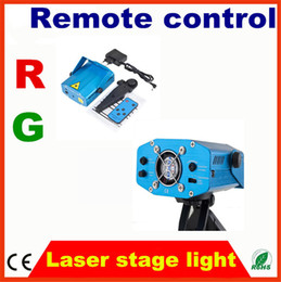Wholesale Multi patterns mini laser stage lighting led laser projector with remote controller for DJ party wedding