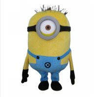 Wholesale Despicable Me Mascot Costume With Helmet And Fan Real Pictures