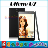 Cheap Octa Core 1.7GHZ MTK6592 Ulefone U7 Phablet 2G RAM 16G ROM Cell Phone With 7.0Inch LTPS 1920*1200 Screen 13.0MP Camera OTG WEIL