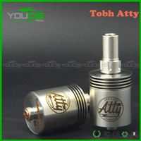 Cheap Atty V2 Tobh atty innovative rda atomizer Tobh atty rda atomizer Clone Tobh atty V2 for electronic cigarette tobh atty atomizer quick seller
