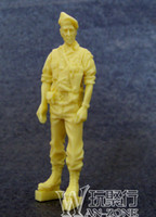 Wholesale Grp Min Order Mix in Grp World War II Resin Soldier Figure Gernman Soldier No Map Figure Un Painted