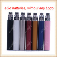 1100mAh Non-Adjustable Ego battery eGo Battery 900 1100mah Colorful batteries for 510 CE4 CE5 Ago G5 T3 T2 atomizer Free shpping