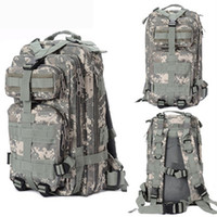 Wholesale S5Q Outdoor Backpack Camping Hiking Trekking Sport Military Tactical Rucksacks Bag AAABWG