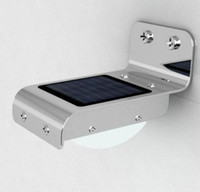 Wholesale High Bright LED Sound Sensor Solar Powered Light Waterproof Outdoor led Light lamp Wall Light Garden Lamp easy to install