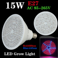 Wholesale Newest hydroponics lighting V W E27 RED BLUE LEDS Hydroponic LED Plant Grow Lights led bulb LED LIGHT