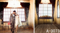 DLP Yes Spray Painted 600CM*300CM 2013 new arrival Square window table and chandelier backgrounds photo studio YL