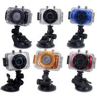 Wholesale New Sports DVR Helmet Waterproof HD Action Camera Sport Outdoor Camcorder DV Hot Digital Video Camera