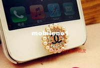 push button phone - Oil small c push button mobile phone diy accessories beauty shell rhinestone pasted h074