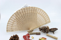 wooden hand fan - Wedding Fans Wooden Fans Handmade Chinese Sandalwood Fans Ladies Hand Fans Advertising and Promotional Folding Fans Bridal Accessories