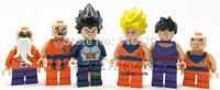 Wholesale Dragon Ball Z Figures Decool Classic Toys DIY Building Blocks Sets Model Bricks Minifigures Toy For Children