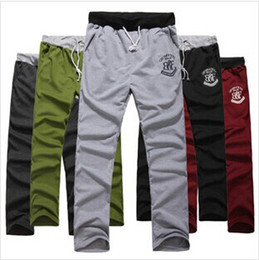 Hot Sale New Men's Casual Sports Pants  loose male trousers Loungewear and nightwear Grey M-XXXL 6color top sale