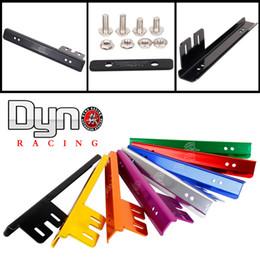 Wholesale Dyno racing Password JDM Kit V License Plate Relocator Frame bracket For honda