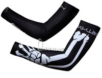 arm bone - Unisex Cycling Sleeves CLASSIC NW NORTH WAVE BONES BLACK bike solar protection bicycles arm warmer
