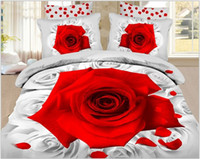 Cheap Polyester / Cotton Bedding Sets Best home use Knitted painting bedding