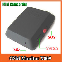 FM Wireless Bug gsm spy bug - HK POST Mini GSM dvr camera GSM Bug GPS tracker Gsm Hidden camera Spy camera Video Recorder Voice X009