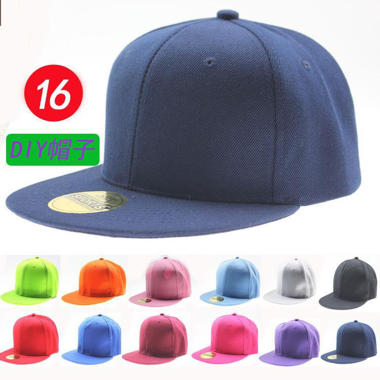 Flat Brim Caps Cheap Ball Cap Hiphop Flat Hat