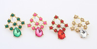 Wholesale European and American retro fashion boutique droplets earrings A2