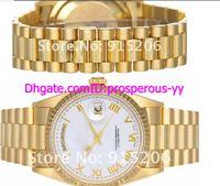Men's auto pilot - Hot Sale Lowest Price Men s President Men s K Watch w Roman Numerals Day mm Sapphire Glass mechanical pilot watch