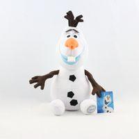 Wholesale Cartoon Movie Frozen Olaf Plush Toys For Sale cm Cotton Stuffed Dolls