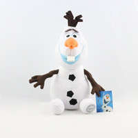 Cartoon Movie Frozen Olaf Plush Toys For Sale 30cm Cotton St...