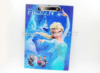 Wholesale Cheap Frozen book clip dianban paper plywood file folder writing board stationery with ballpoint pen