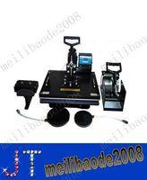 Wholesale combo Heat Press machine Multiuse Heat Transfer Machines sublimation For T shirt Mug Cap Plate cellphone case MYY9242