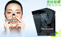 6g/piece anti aging tea - PILATEN Suction Black Mask Face Facial Cleaning Tearing Style Pore Strip Deep Cleansing Nose Acne Blackhead Masks Black Head g pc