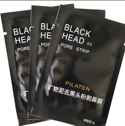 Wholesale PILATEN Suction Black Mask Face Care Mask Cleaning Tearing Style Pore Strip Deep Cleansing Nose Acne Blackhead Facial Mask g