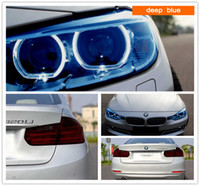 Wholesale Glossy Headlight Tail Light Film Protecive Sticker Tint Wrap Lamp Vinyl Film m roll