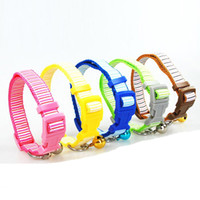1. 5cm Width Nylon Cute Stripes Printed Dog Puppy Cat Collars...