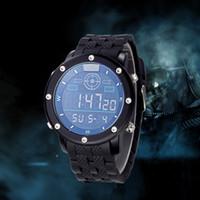 Wholesale BISTEC WATERPROOF Aloy watchcase digital MULTI FUNCTION MEN S WRIST WATCH