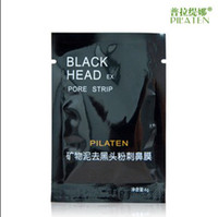 6g/piece best suction - Best PILATEN Suction Black Mask Face Care Mask Deep Cleaning Tearing Style Pore Strip Deep Cleansing Nose Acne Blackhead Facial Mask g