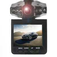 Wholesale New Arrival HD198 Car Camera IR LED Car video recorder for night vision Car DVR with quot LCD TFT Screen DVR
