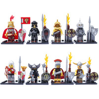 Wholesale Castle Soldiers Figures Classic Toys SY175 DIY Building Blocks Sets Model Bricks Minifigures Toy For Children