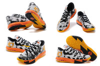 Wholesale 6 Colours New Model Kevin Durant KD VI MVP World Cup Men s Basketball Sport Footwear Sneakers Trainers Shoes
