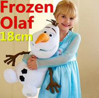 Wholesale 18cm Frozen Olaf Plush Toys quot Cartoon Movie Dolls Stuffed Toy Dolls Snowman Animal Doll