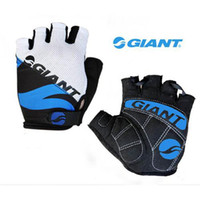 Wholesale Professional Cycling Gloves Giant Brand Half Finger Soft and Breathable Fashion Silicone Gloves CG004