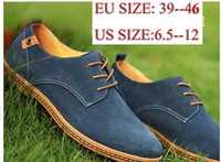 Wholesale 2013 Hot Fashion Mens Casual Shoes Genuine British Style Rubber Tendon Sole Sneakers for Men Suede Leather Shoes Big Size