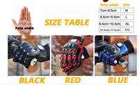 Wholesale 10pcs Newest Mens Bomber Motocross Gloves For Fox Motorcross Gloves Motorcycle Mountain Biking Moto bicycle dirt bike Cycling Gloves