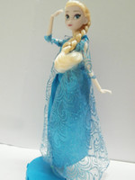 Wholesale Cheap Fashion Set Joint Moveable Frozen Doll Frozen Princess Frozen Elsa amp Anna Good Quality Gifts Frozen Dolls