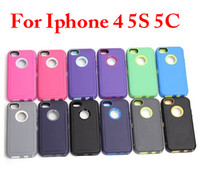 Wholesale Hybrid layers TPU PC in robot plastic Case for galaxy S5 i9600 S4 i9500 S3 note iphone S S C quot cell phone cases